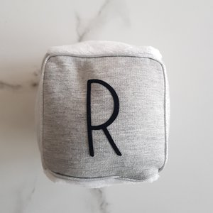 Cosy Cotton | Rammelaar letter touch of silver